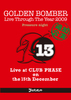 高田馬場CLUB PHASE「第一夜 リクエスト・オン・ザ・ベスト~Pressure night~」2009.12.15