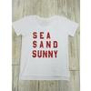 Sea Sand Sunnyday「SEA SAND SUNNY T-shirt」(Tシャツ:L)