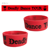 「Deadly Dance TOUR」シリコンバンド(Red)