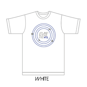 「LIVE TRIANGLE VER.1.0」A Planet in Your Eyes TEE (ホワイトL)