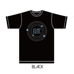 「LIVE TRIANGLE VER.1.0」A Planet in Your Eyes TEE (ブラックS)