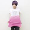 「ロボヒップ」レディースTシャツ(ピンク)