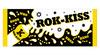 ROK-KISS フェイスタオル(ブラック×イエロー)