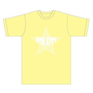 ROK-KISS Tシャツ2(イエロー/M)