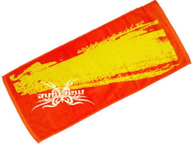machine Towel (red×yellow)