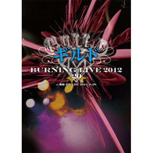 【DVD】「Burning LIVE 2012 #20」at 新宿BLAZE 2012.9.28