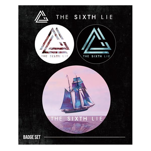 THE SIXTH LIE Badge Set(A / B / C / D)