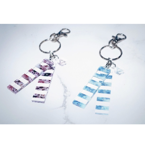THE SIXTH LIE 6 Lines Bag Charm(Flower / Marble)