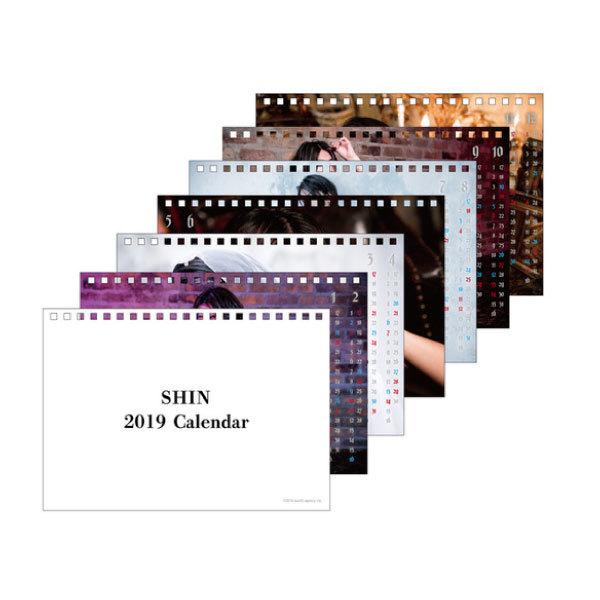 SHIN 2019年卓上カレンダー