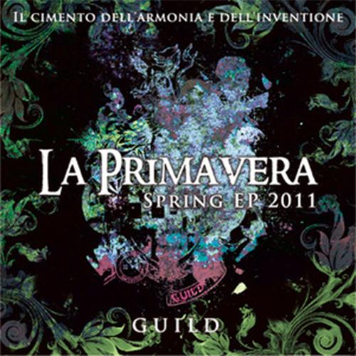 「Spring EP 2011 ~La Primavera~」初回限定盤B(CD+DVD)