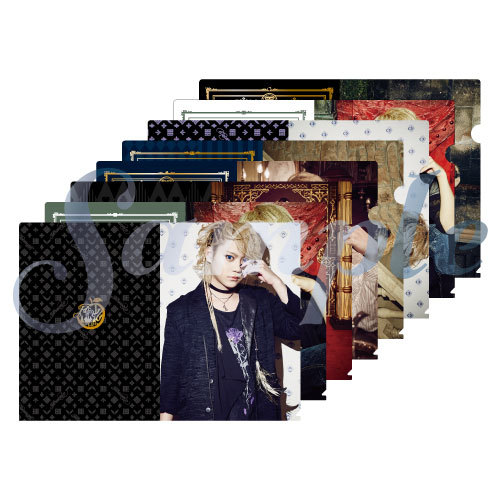"The Brow Beat Live Tour 2019 ""Hameln"" Blind clear plastic file folder(8kinds)"