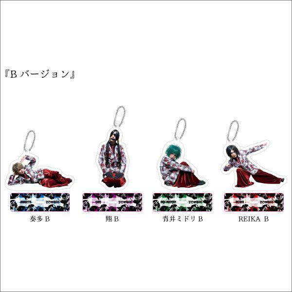 ぞんび 「GO GO BACTERIA TOUR」アクリルキーホルダー(Bver.)