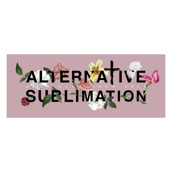 """Alternative Sublimation"" フェイスタオル"
