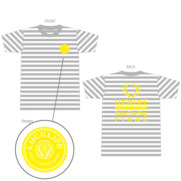【Raise The Flag Tour】(祝)Shibukou•New type T-shirt (S/M/L/XL)