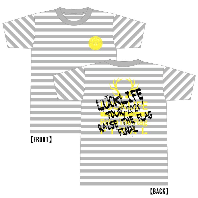 【Raise The Flag Tour】<リベンジ>渋公・ニュータイプTシャツ 13th ver.  NEW!!