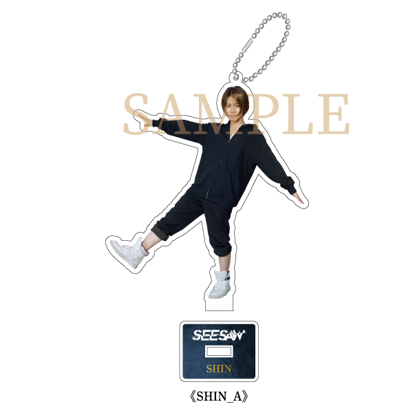 【Online salon members limited】Acrylic stand keyring