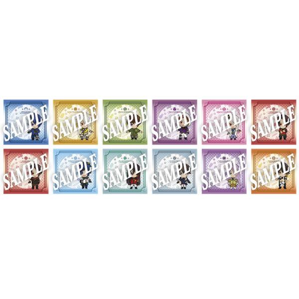 【真剣乱舞祭 2016:上映会】デフォルメキャラクターミニタオル 【全12種】※ブラインド販売
